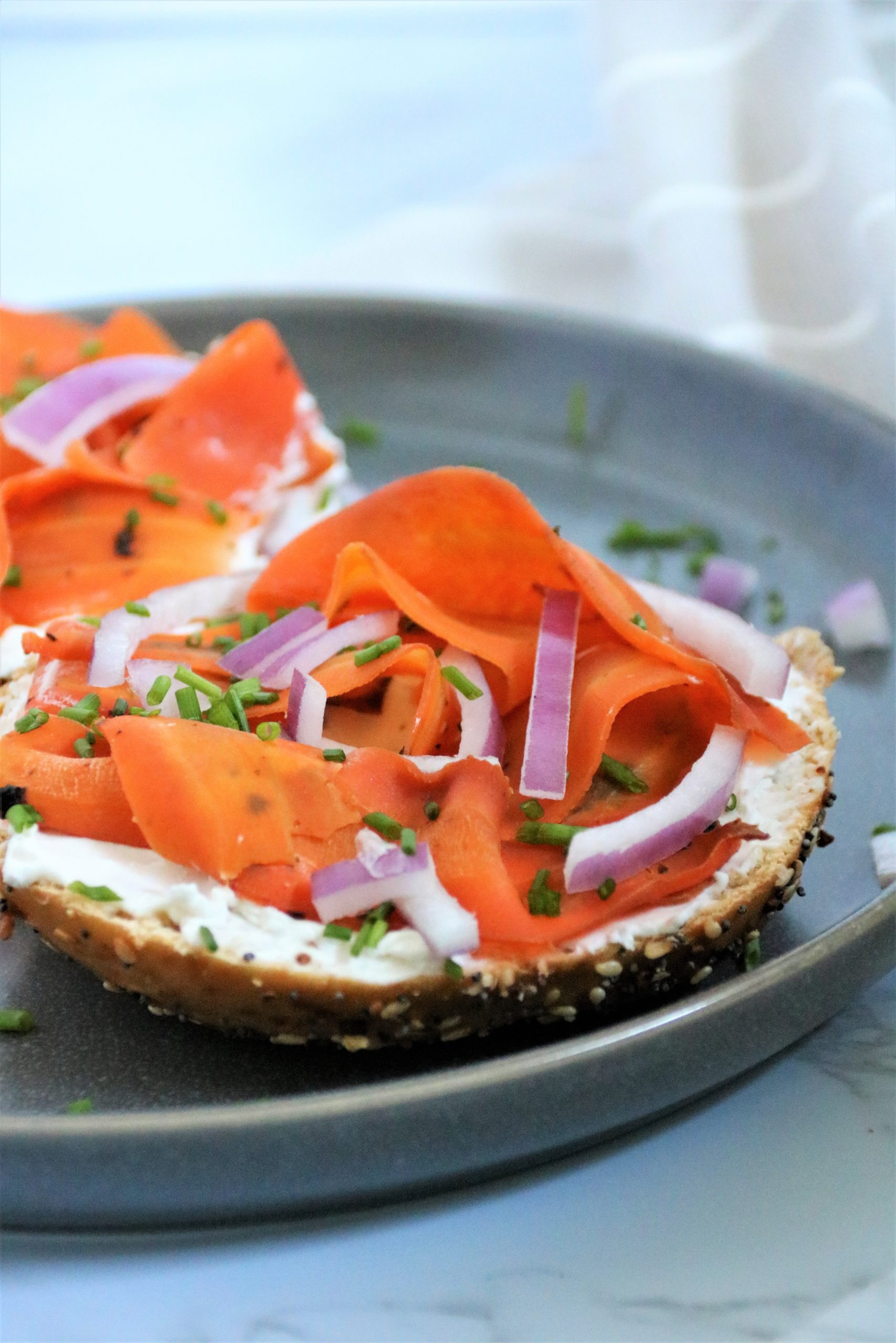 Vegan Smoked Salmon Lox Recipe