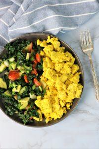easy vegan tofu scramble