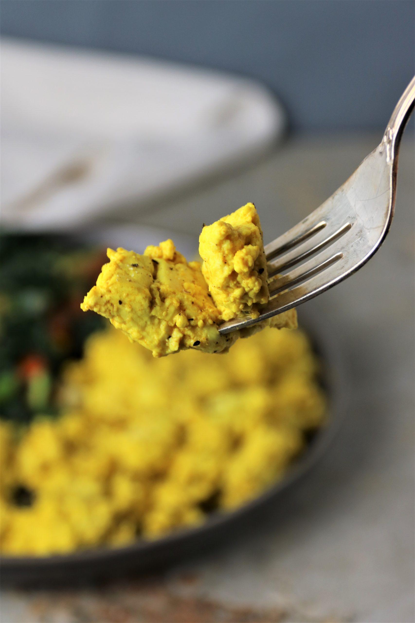 vegan tofu scramble protein