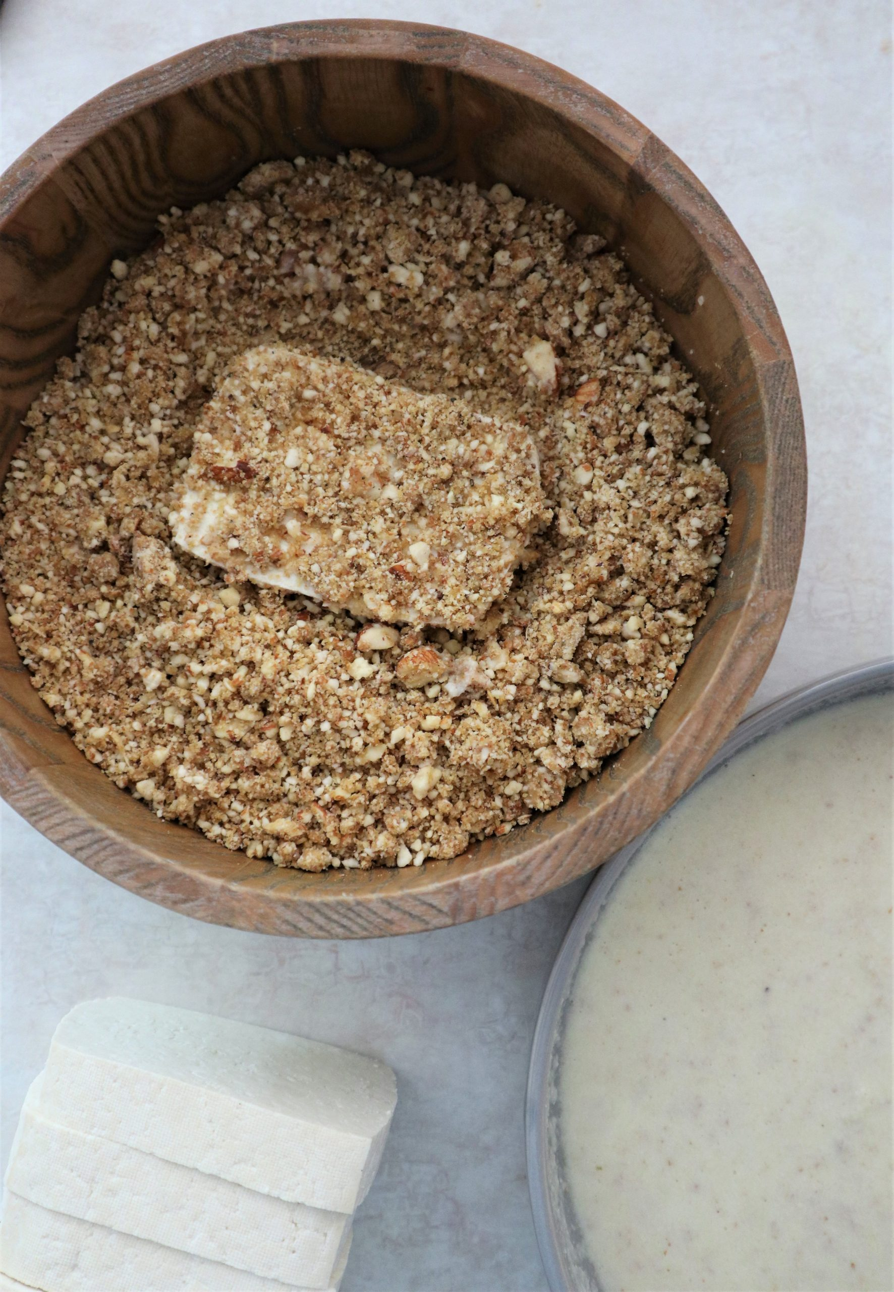 how to make almond crust