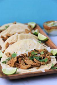 vegan carne asada tacos