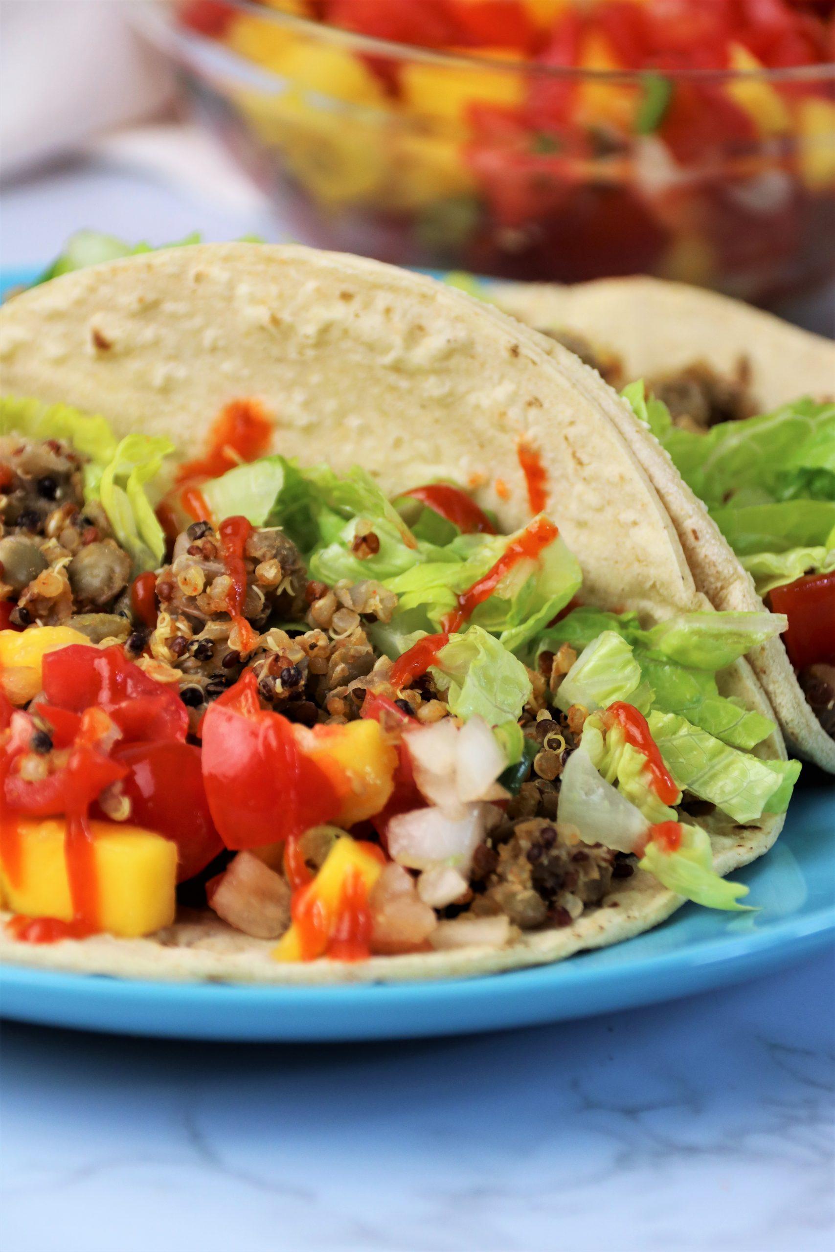 oil free vegan tacos