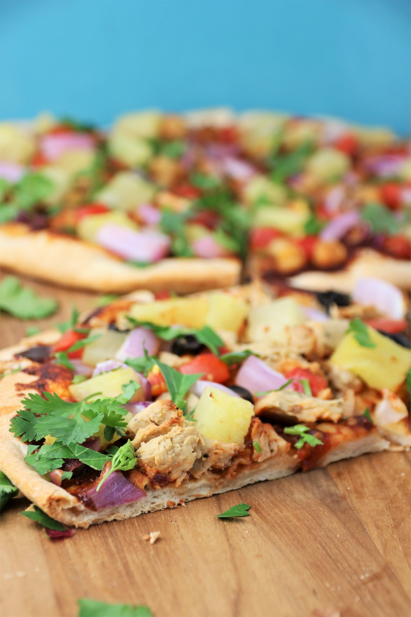 vegan bbq chicken pizza recipe