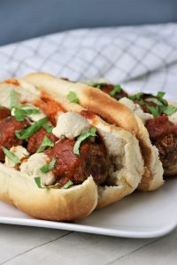 vegan meatball sub recipe