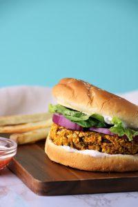vegan pumpkin burger recipe
