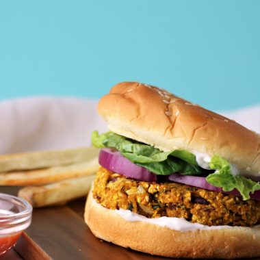 vegan pumpkin burger recipe