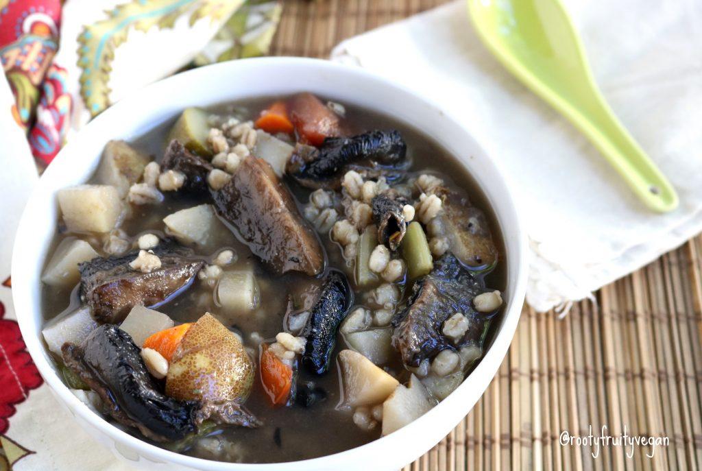 "Portobello ""Beef"" Stew"