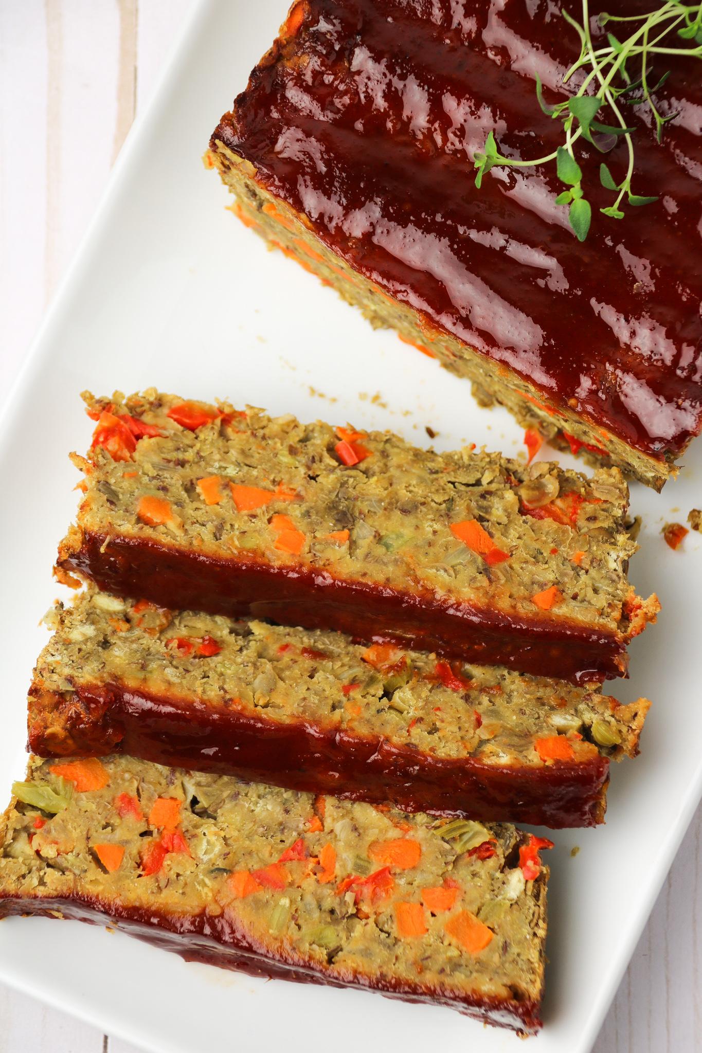 plant based vegan meatloaf recipe