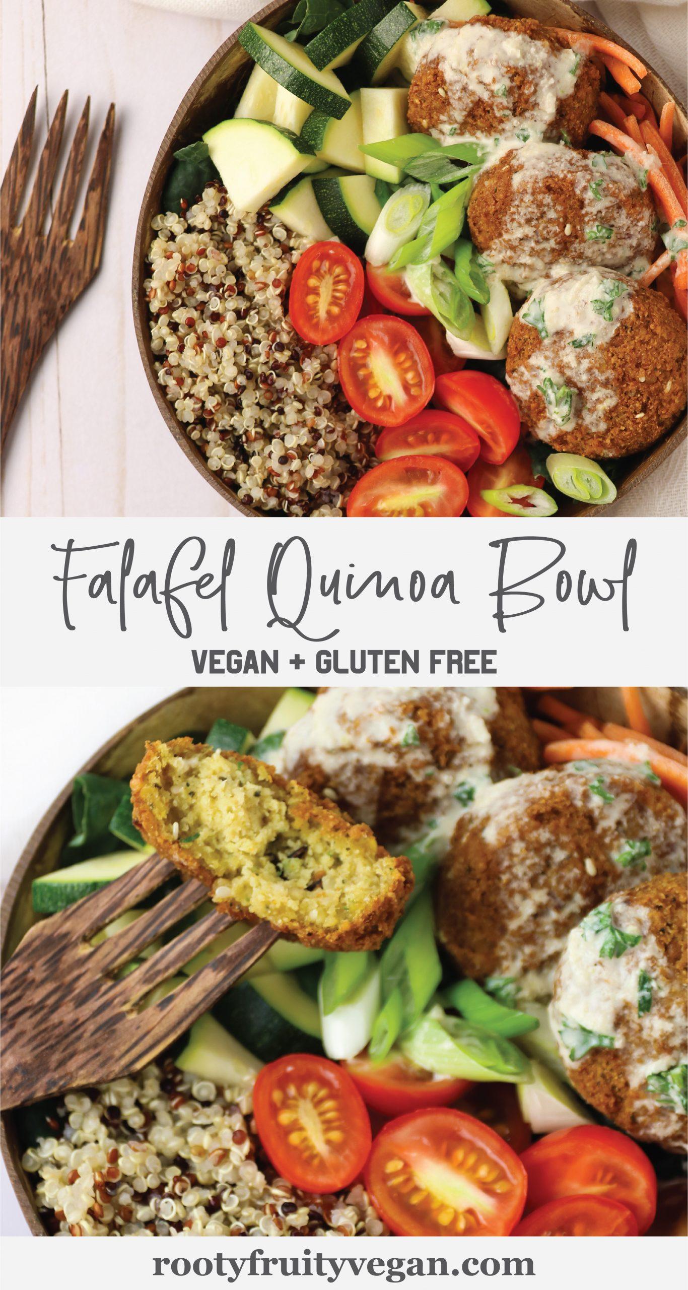 vegan falafel recipe buddah bowl