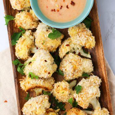 vegan coconut cauliflower recipe