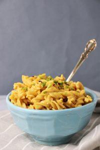 healthy vegan mac and cheese