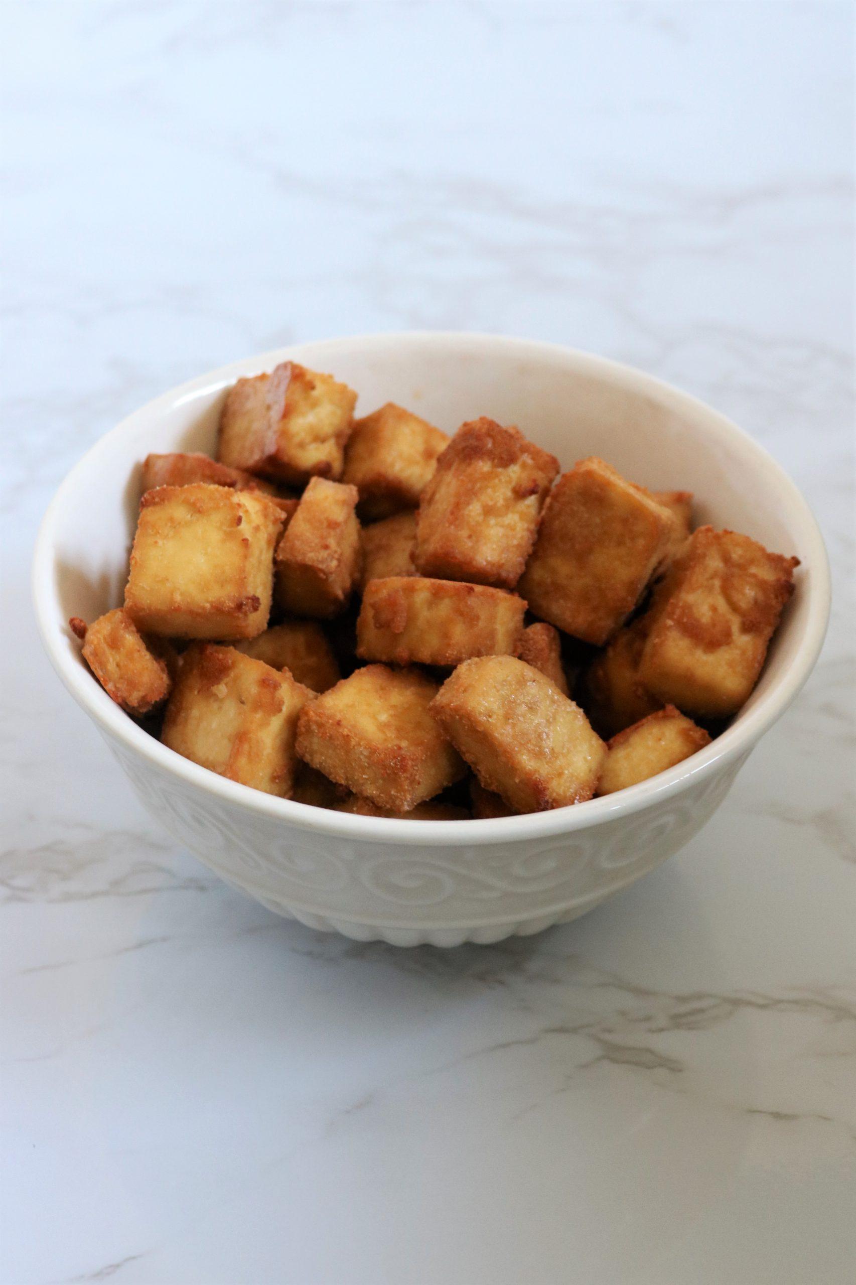 Crispy Tofu Recipe oil free