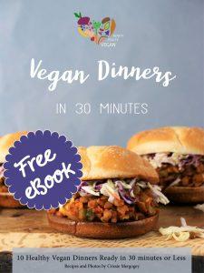Free Vegan Dinner eBook by Rooty Fruity Vegan