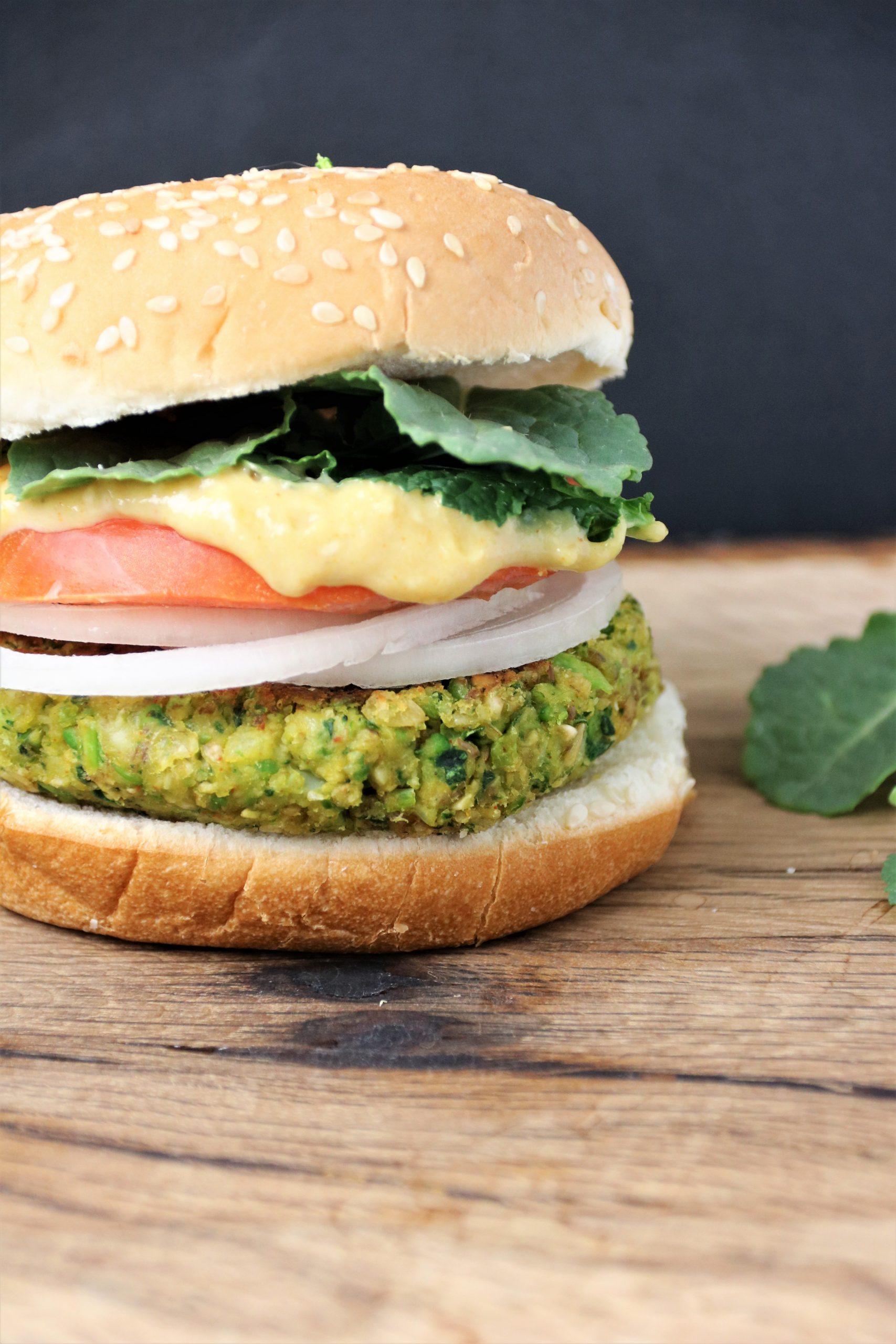 green machine veggie burger