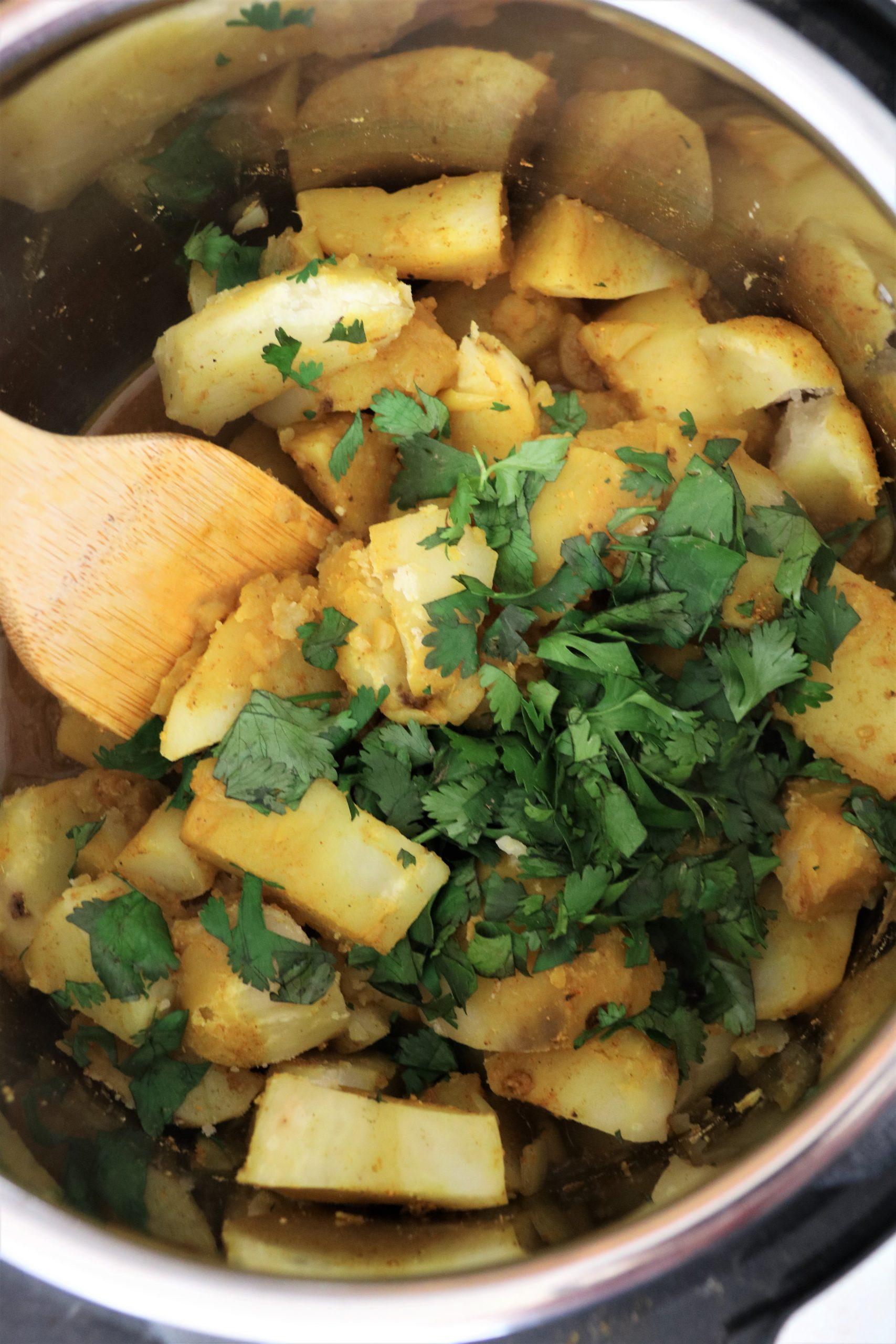 instant pot potato masala