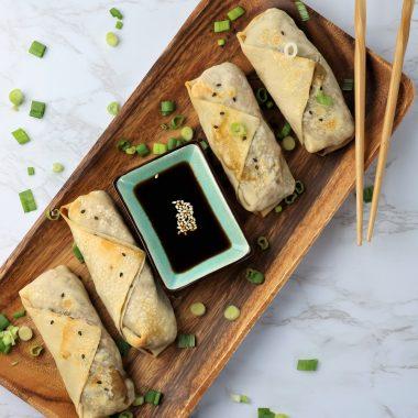 vegan egg rolls