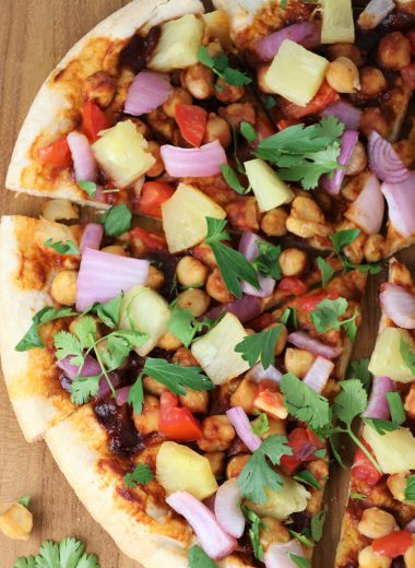 easy vegan hawaiian pizza recipe