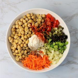 how to make vegan chicken salad