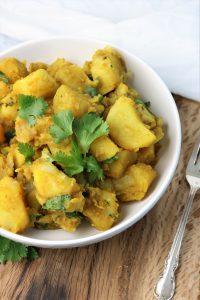 instant pot vegan potato masala