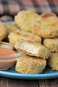 easy vegan tofu nuggets