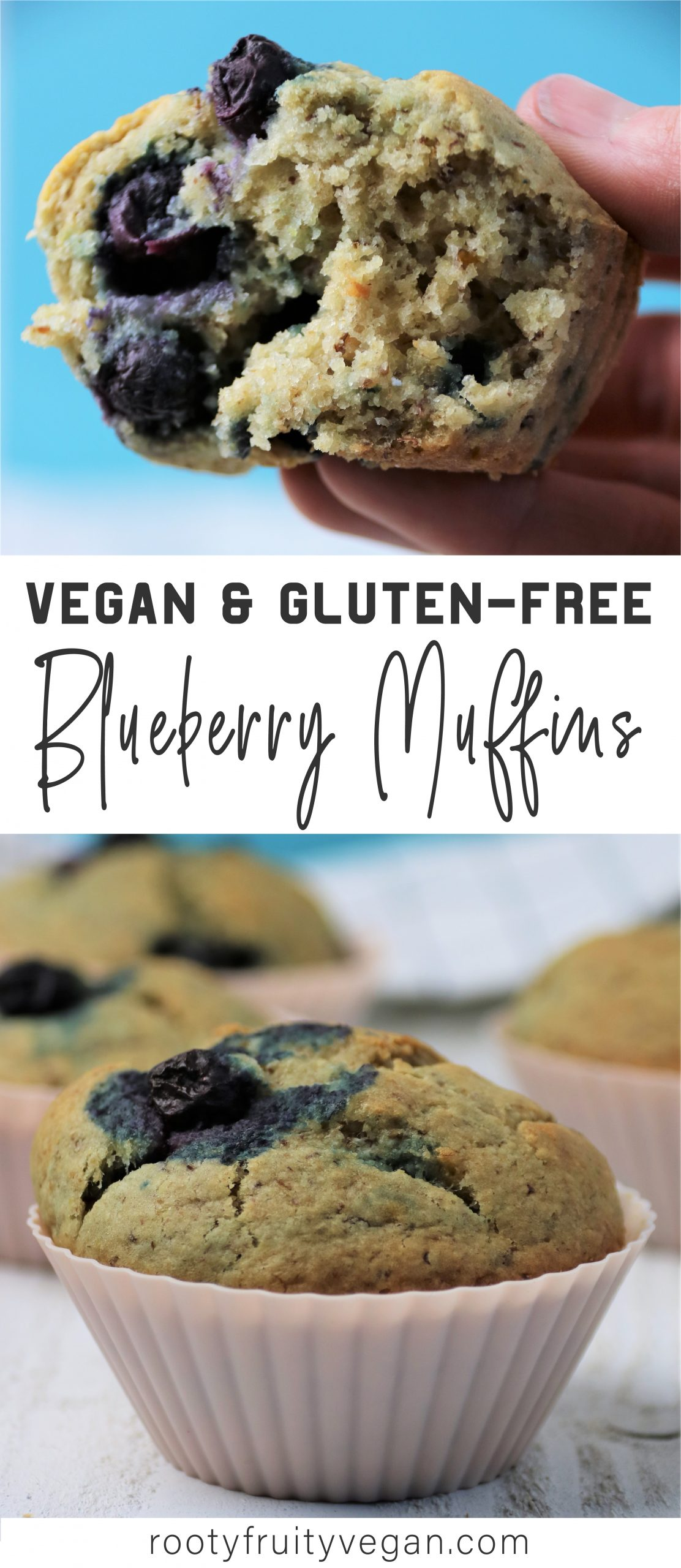 vegan gluten free blueberry muffin recipe