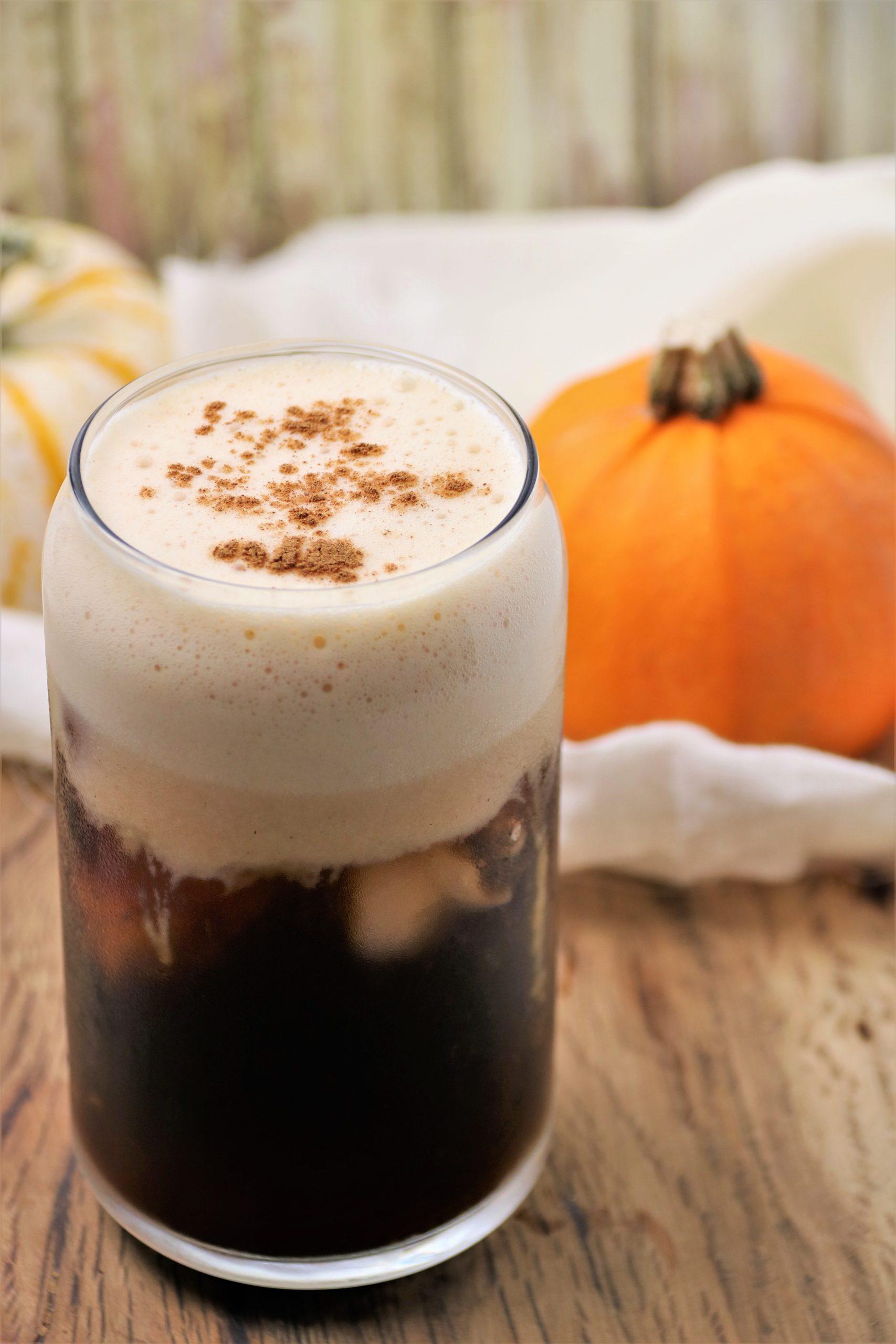 pumpkin cold brew dairy-free