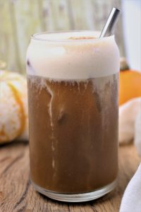 vegan pumpkin cream coffee