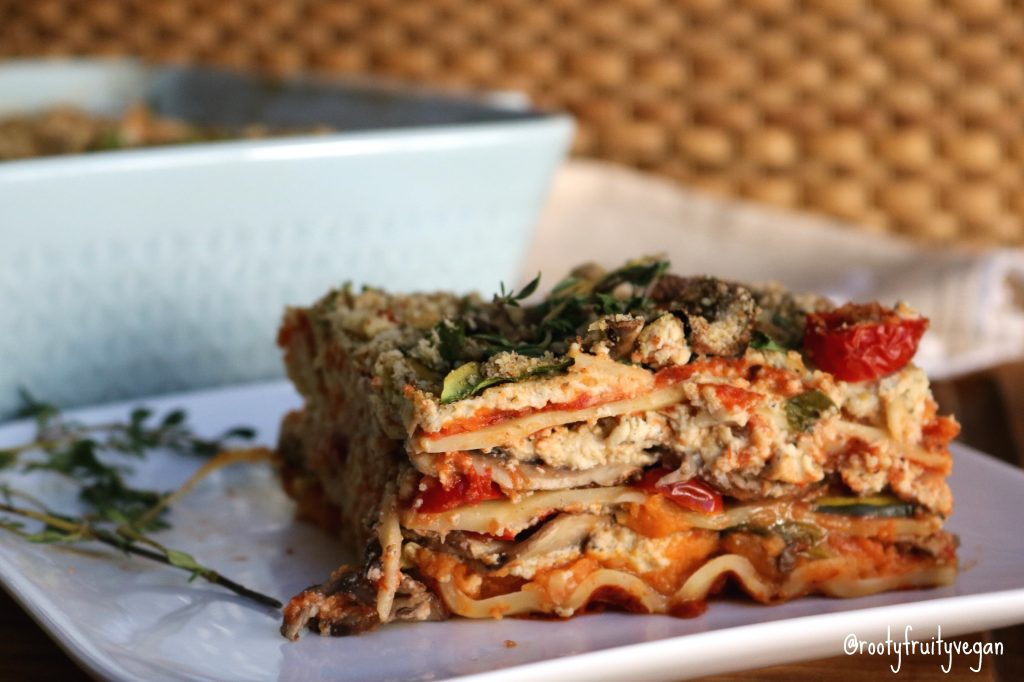 Sweet Potato & Ricotta Lasagna
