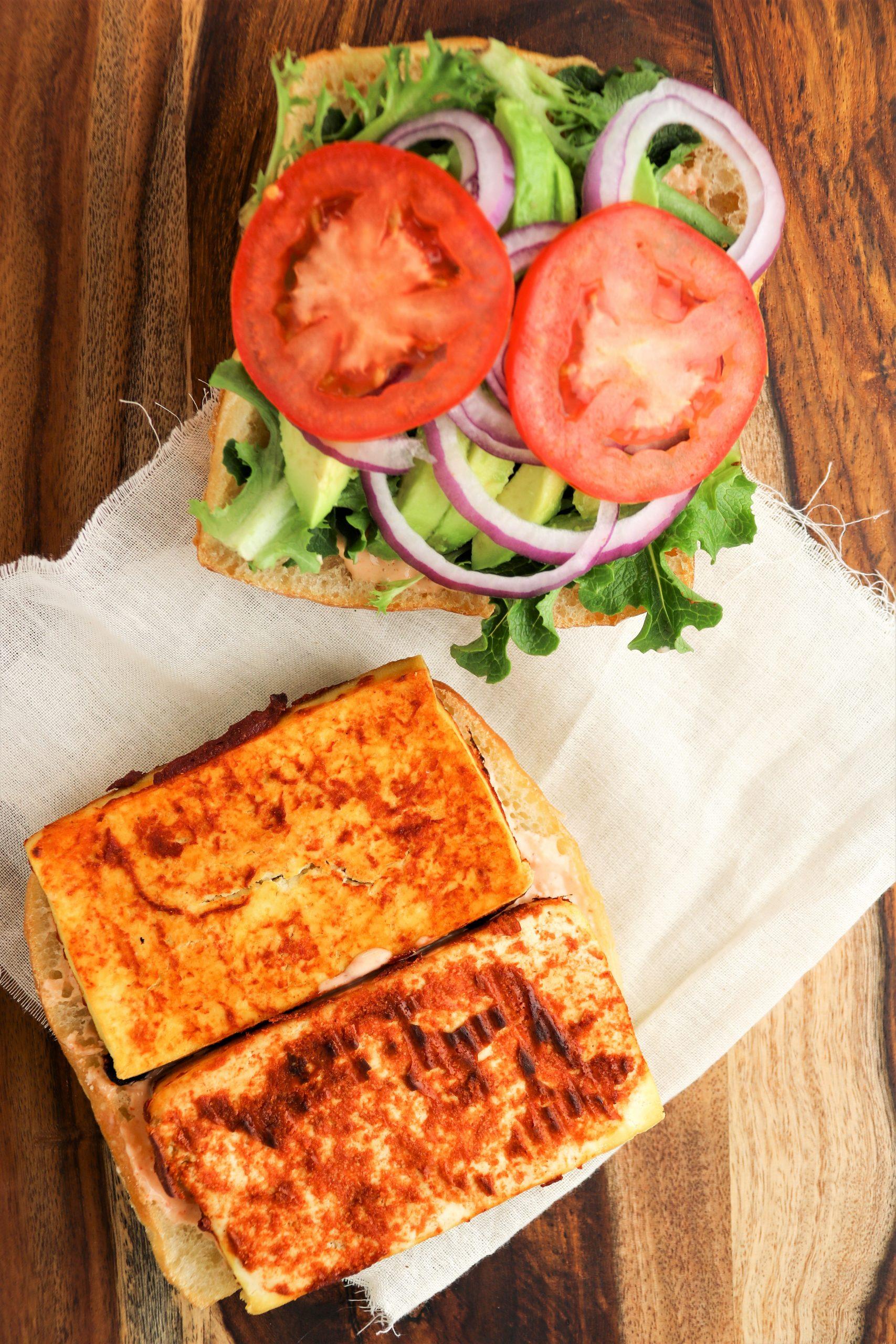 smoky tofu sandwich recipe