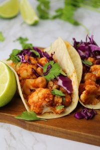 Vegan tinga taco recipe