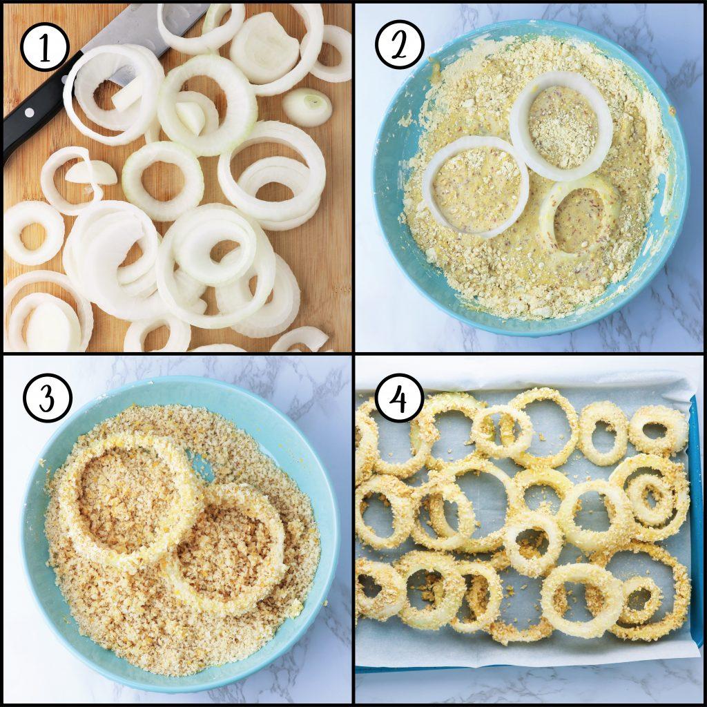 easy onion ring recipe vegan