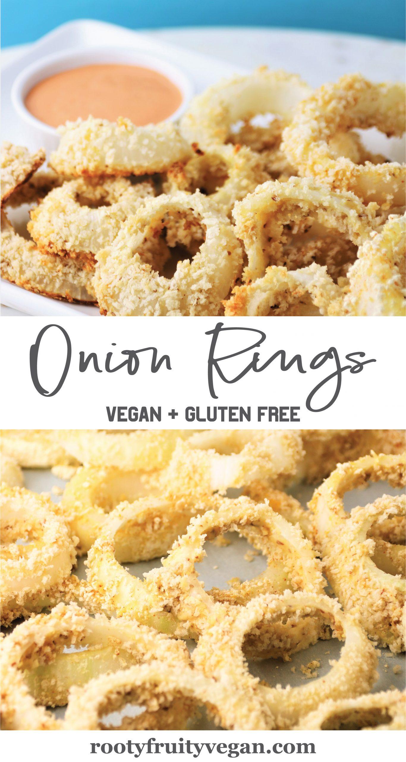 homemade onion rings vegan